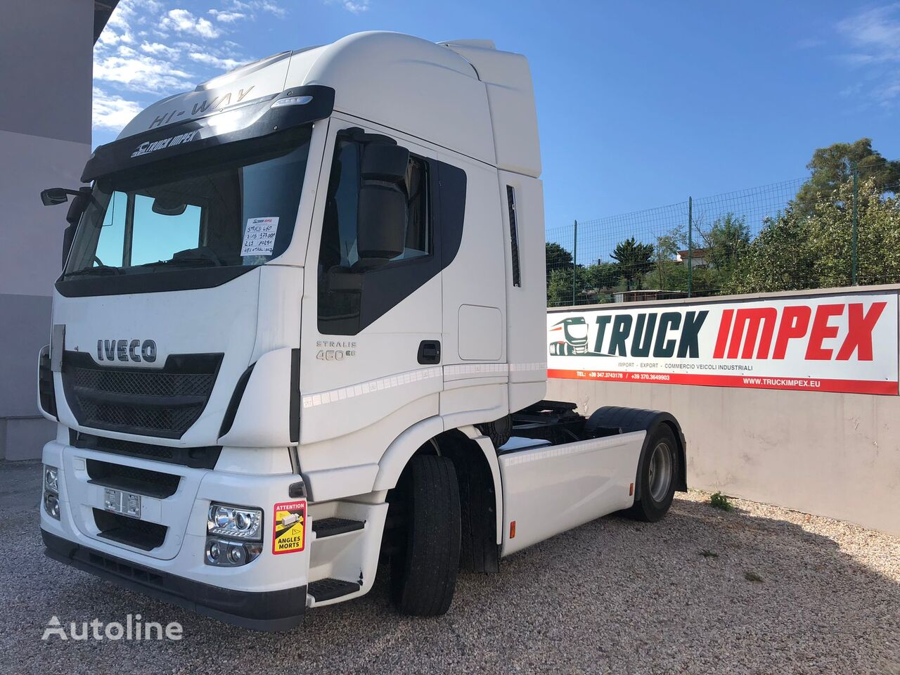 trattore stradale IVECO Stralis Hi Way 460, anno 2015, RETARDER