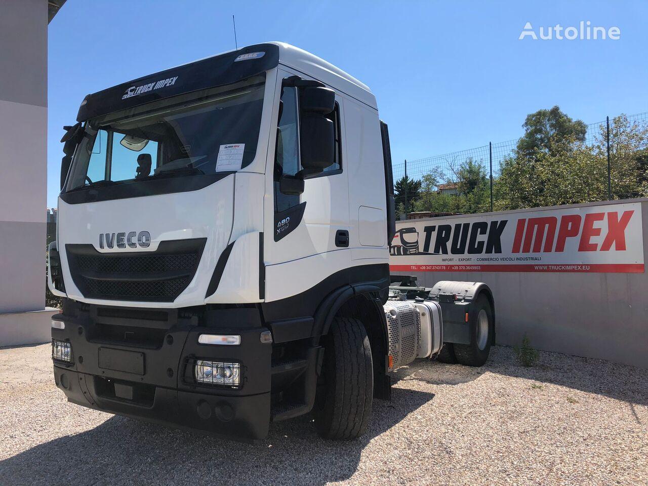 trattore stradale IVECO X-Way, anno 2020, km 98.000, Retarder, Impianto Ribaltabile